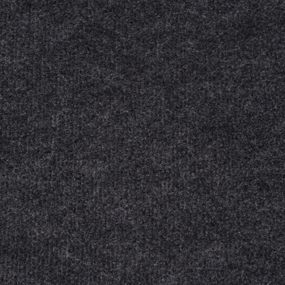 BLACK CHEAP CORD CARPET BUDGET THIN FLOOR COVERING
