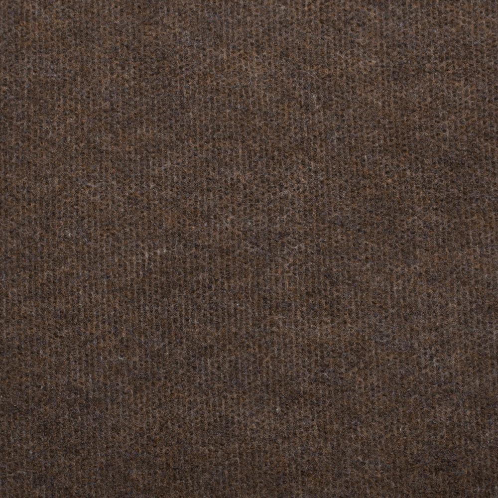 Dark Brown Cheap Cord Carpet Budget Floor Covering
