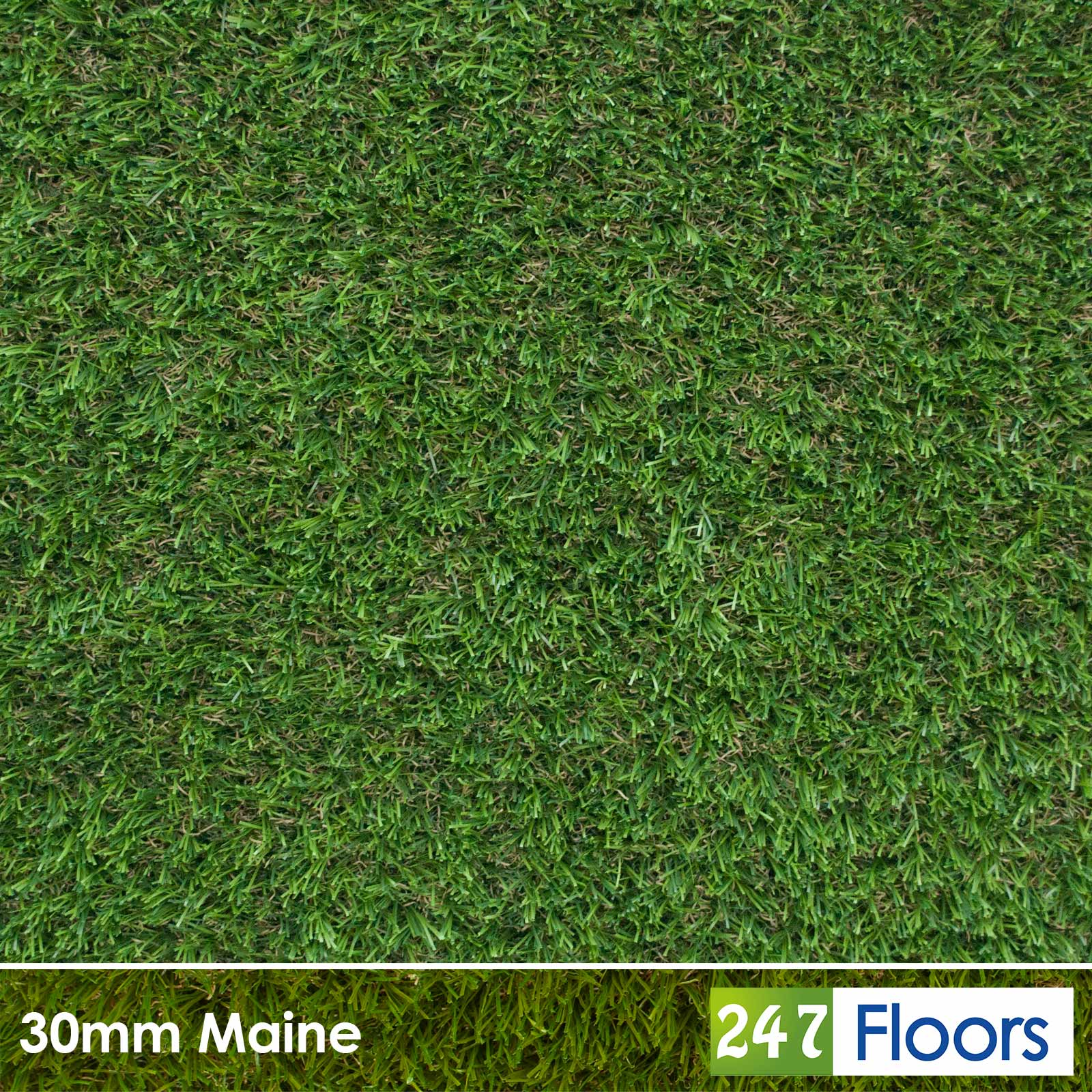 Fremantle Spring 28mm Artificial Grass C Shaped Realistic Turf Lawn 2m 4m Wide